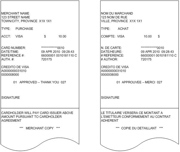Receipt requirements moneris developers merchant copy receipts reheart Gallery